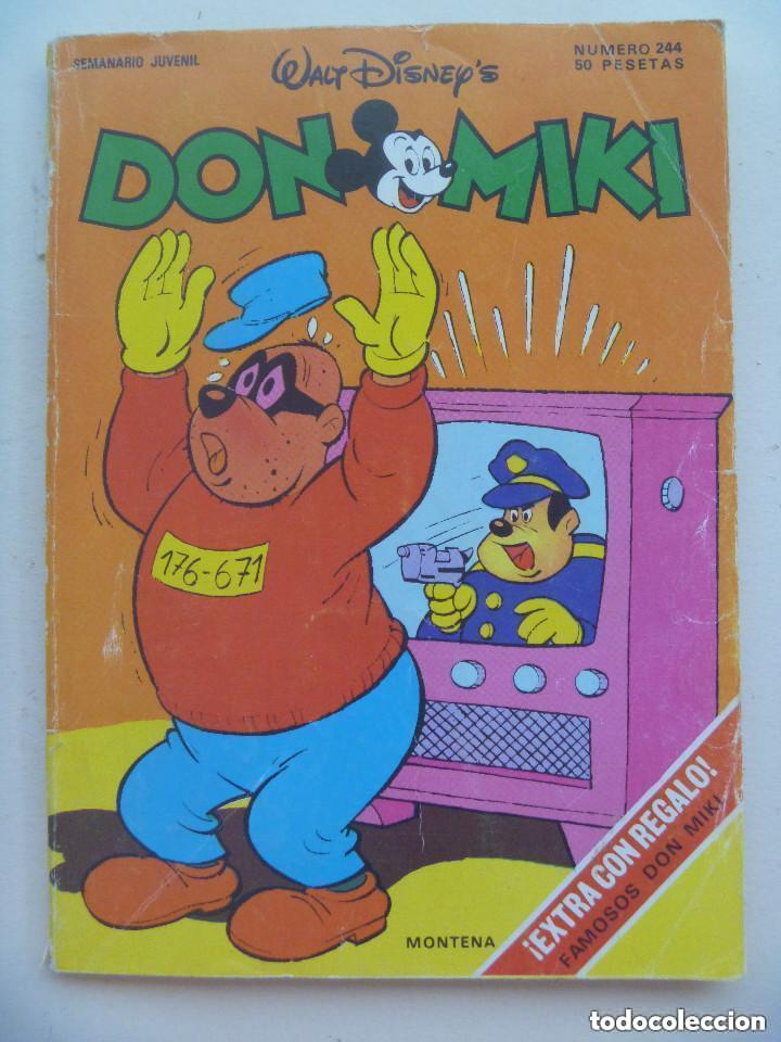 DON MIKI , DE WALT DISNEY . Nº 244 . DE MONTENA (Tebeos y Comics - Montena)