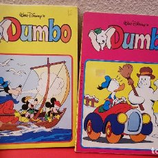 Tebeos: LOTE 2 COMIC TEBEO EDICIONES MONTENA DUMBO WALT DISNEY Nº 37,41 1982. Lote 150559338