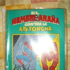 Giornalini: EL HOMBRE ARAÑA CONTRA LA ANTORCHA HUMANA. MONTENA. TAPA DURA. Lote 154041298