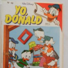 Tebeos: YO, DONALD Nº 12 - DISNEY - MONTENA MONDIBERICA.. Lote 156329342