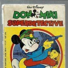 BDs: DON MIKI SUPERDETECTIVE, 1980, MONTENA, BUEN ESTADO. Lote 166074394