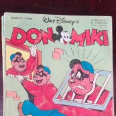 Tebeos: TEBEO CÓMIC DON MIKI DON MICKEY EDITORIAL MONTENA NO BRUGUERA 527. Lote 168576860