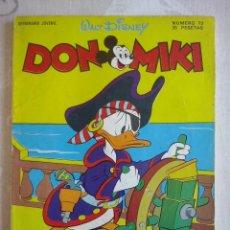 BDs: MONTENA - DON MIKI NUM.73 ( CONSERVA EL CUPON SIN RECORTAR ). 35 PTS. Lote 168793700