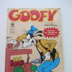 Tebeos: GOOFY N 1. EDICIÓNES PRIMAVERA. 1990 WALT DISNEY ET. Lote 168985040