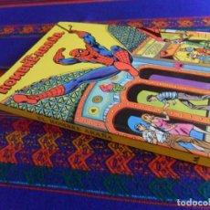 Tebeos: EL HOMBRE-ARAÑA HOMBRE ARAÑA SPIDERMAN. FIGURAS MOVIBLES 3D CUENTO POP-UP. MONTENA 1981. BE.. Lote 169436084