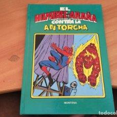 BDs: SPIDERMAN HOMBRE ARAÑA CONTRA ANTORCHA (MONTENA) (COIB27). Lote 174501355