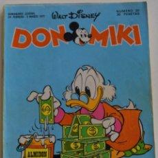 Tebeos: DON MIKI Nº 20 - 1º EDICIÓN 1977. Lote 176240652
