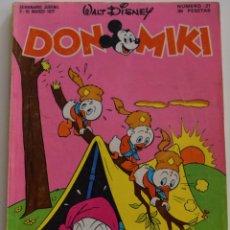 Tebeos: DON MIKI Nº 21 - 1º EDICIÓN 1977. Lote 176240749