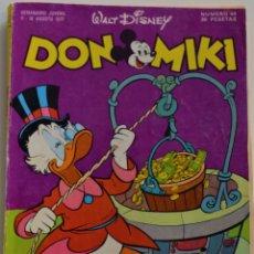 Tebeos: DON MIKI Nº 44 - 1º EDICIÓN 1977. Lote 176246254