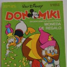 Tebeos: DON MIKI Nº 55 - 1º EDICIÓN 1977. Lote 176373654