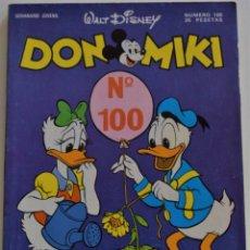 Tebeos: DON MIKI Nº 100 - 1º EDICIÓN . Lote 176434179