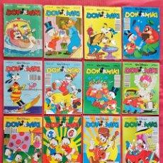 Tebeos: LOTE 18 COMICS WALT DISNEY DON MIKI + HIPER DISNEY N°1. Lote 179249808