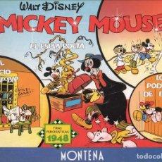 Tebeos: MICKEY MOUSE: TIRAS PERIODÍSTICAS 1948 EL JUICIO A BIP-BIP - EL ESPÍA POETA - LOS PODERES DE BIP-BIP. Lote 179889746