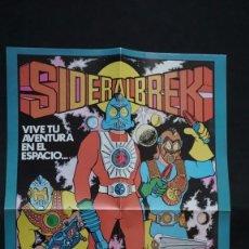 Tebeos: POSTER DE SIDERALBREK DE LOS TEBEOS O COMICS DE DON MIKI. Lote 181198183