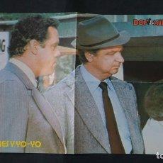 Tebeos: POSTER DE HOLMES Y YO-YO DE LOS TEBEOS O COMICS DE DON MIKI. Lote 181412732