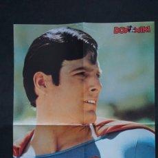 Tebeos: POSTER DE SUPERMAN DE LOS TEBEOS O COMICS DE DON MIKI. Lote 207369606