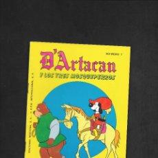 Tebeos: D'ARTACAN Y LOS TRES MOSQUEPERROS NUMERO 7. Lote 181864235