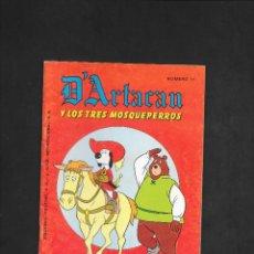 Tebeos: D'ARTACAN Y LOS TRES MOSQUEPERROS NUMERO 11. Lote 181865308