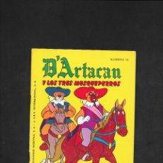 Tebeos: D'ARTACAN Y LOS TRES MOSQUEPERROS NUMERO 12. Lote 181865641