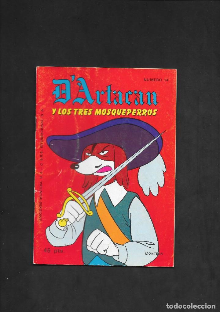 D'ARTACAN Y LOS TRES MOSQUEPERROS NUMERO 14 (Tebeos y Comics - Montena)