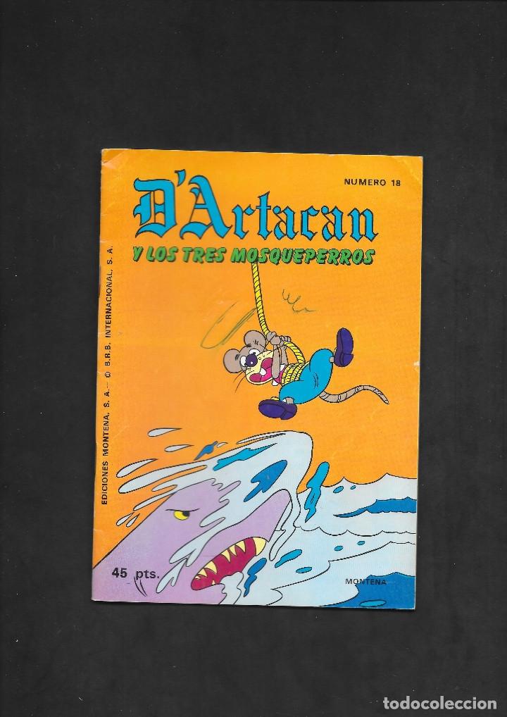 D'ARTACAN Y LOS TRES MOSQUEPERROS NUMERO 18 (Tebeos y Comics - Montena)