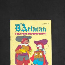 Tebeos: D'ARTACAN Y LOS TRES MOSQUEPERROS NUMERO 24. Lote 181926493