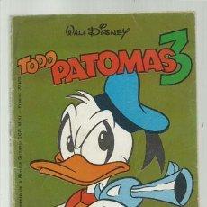 BDs: TODO PATOMAS 3, 1980, MONTENA, BUEN ESTADO. Lote 181955105