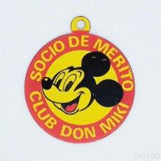 Tebeos: MEDALLA DE SOCIO DE MERITO CLUB DON MIKI. Lote 189922583