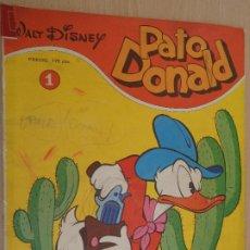 Tebeos: WALT DISNEY PATO DONALD Nº 1. EDITA MONTENA 1979. VER FOTOS. Lote 190548971