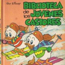 Tebeos: BIBLIOTECA DE LOS JÓVENES CASTORES Nº 3 - WALT DISNEY - MONTENA. Lote 191863300