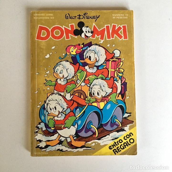 Tebeos: Revista de cómics DON MIKI, nº 10, Walt Disney, 16-23 diciembre 1976, editorial Montena - Foto 2 - 194239283