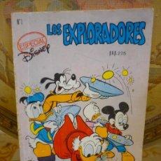 Tebeos: ESPECIAL DISNEY Nº 1: LOS EXPLORADORES. MONTENA 1.987.. Lote 194941062