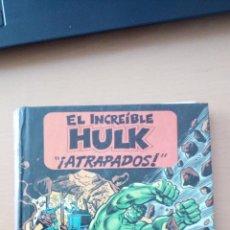 Tebeos: EL INCREIBLE HULK ATRAPADOS - LIBRO POP UP - MONTENA DIORAMA. Lote 194976907