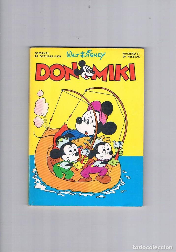 DON MIKI NUMERO 3 OCTUBRE 1976 ARTICULO ANGEL NIETO (Tebeos y Comics - Montena)