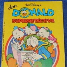 Tebeos: DON DONALD - SUPERDECTECTIVE - NÚMERO ESPECIAL 2 - MONTENA (1981). Lote 195187637