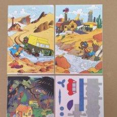 Livros de Banda Desenhada: DON MIKI RECORTABLE, REFUGIO BUSCADORES DE ORO. Lote 196370215