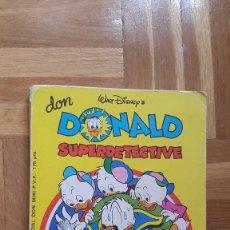 BDs: ESPECIAL DON MIKI Nº 2 DON DONALD SUPER DETECTIVE-MONTENA-AÑO 1981. VER FOTOS ADICIONALES. Lote 196741551