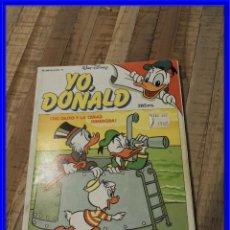 Tebeos: COMIC YO DONALD CON POSTER. Lote 196995487