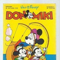 BDs: DON MIKI 3, 1976, MONTENA, BUEN ESTADO. Lote 197275552