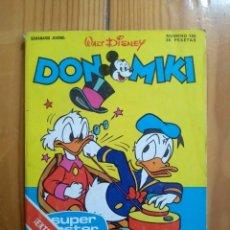 BDs: DON MIKI Nº 155 - CONTIENE EL RECORTABLE DE REGALO. Lote 197399015