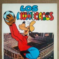 Tebeos: LOS MUNDIALES (DISNEY/MONTENA, 1982).. Lote 204774147