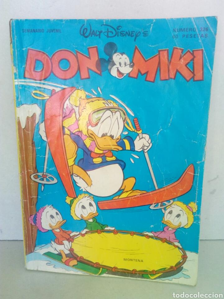 SEMANARIO JUVENIL WALT DISNEY DN MIKI N 326 (Tebeos y Comics - Montena)