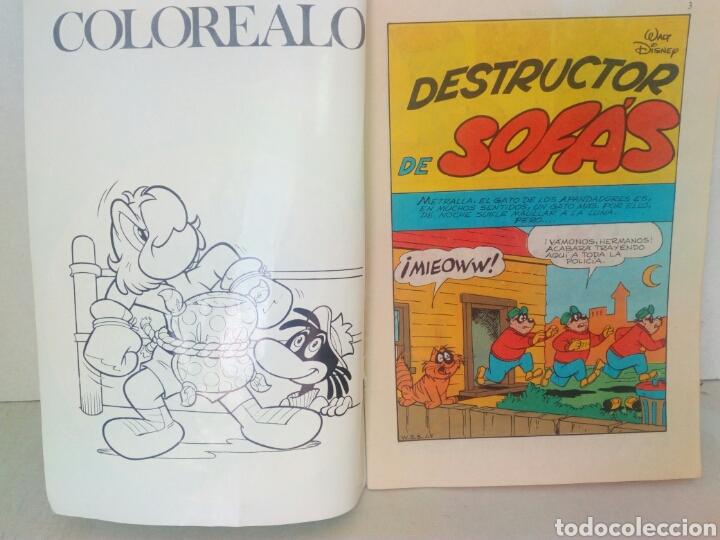 Tebeos: Donald Walt Disney suplemento quincenal revista Dumbo - Foto 2 - 206228435