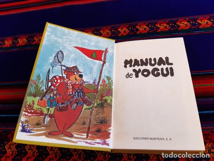 Tebeos: MANUAL DE YOGUI HANNA-BARBERA. MONTENA 1978. 250 PTS. BUEN ESTADO. - Foto 3 - 206231582