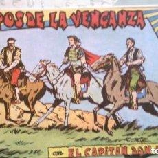 Tebeos: EL CAPITÁN DON NADIE - EN POS DE LA VENGANZA. Lote 209067276