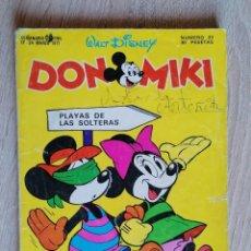 Tebeos: DON MIKI Nº 23 ** MARZO 1977 * MONTENA. Lote 210454993