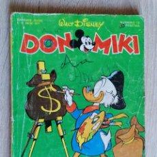 Tebeos: DON MIKI Nº 13 ** ENERO 1977 * MONTENA. Lote 210455232