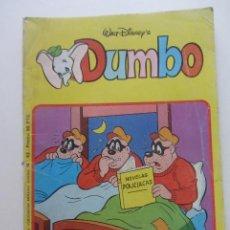 Tebeos: DUMBO Nº 43 MONTENA 1982 ALBUM RUSTICA WALT DISNEY. CX60. Lote 211651990