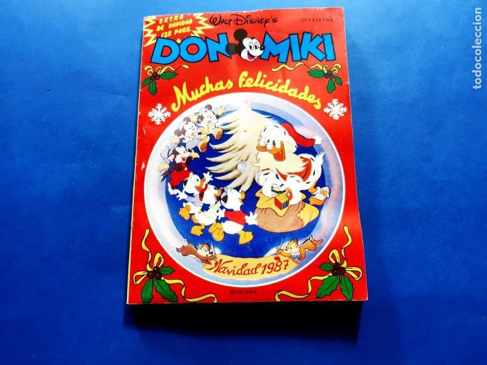 DON MIKI-EXTRA DE NAVIDAD 1987-130 PAGINAS-BUEN ESTADO (Tebeos y Comics - Montena)