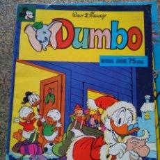 Tebeos: DUMBO -- Nº 6 -- WALT DISNEY -- MONTENA 1978 --. Lote 213865188